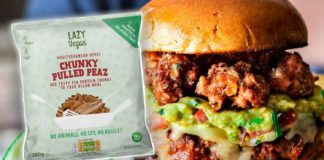 Pulled Pork Style Vegan Meat Just Launched at Sainsbury's