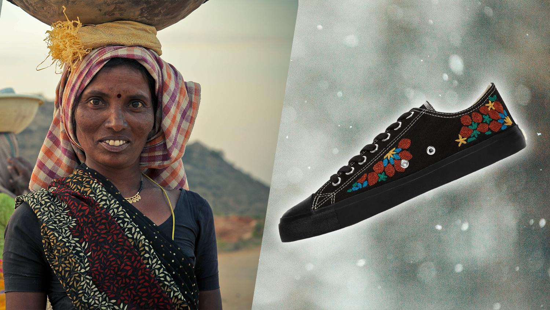 These Fair-Trade Vegan Sneakers Empower Women in Pakistan