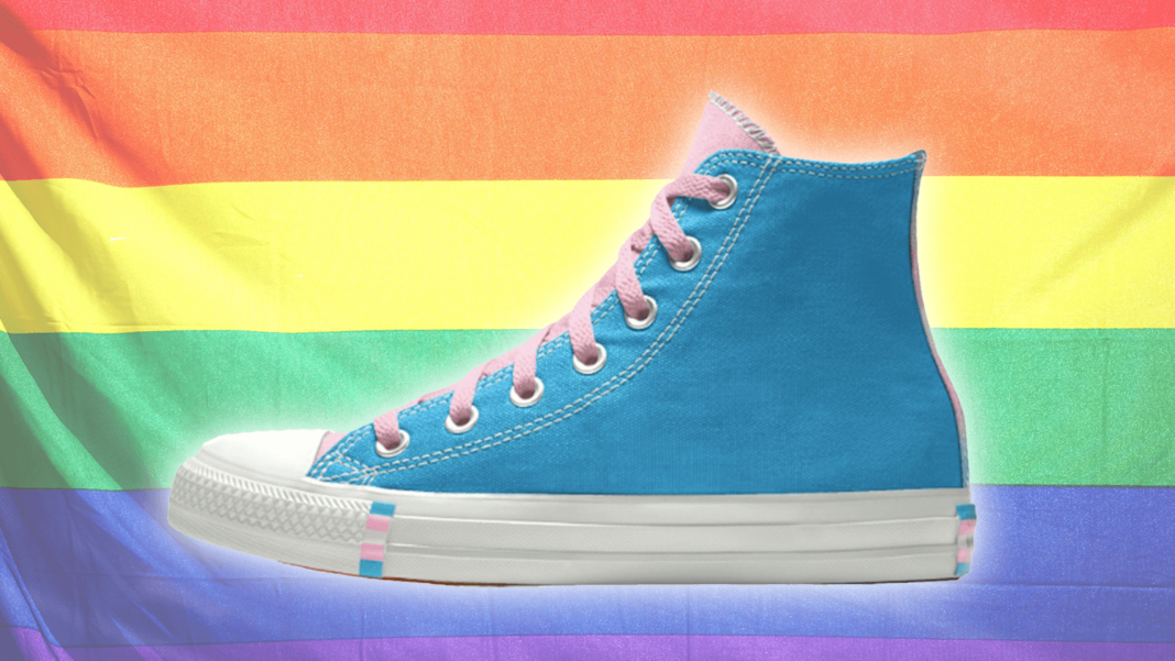 Converse Just Released the Cutest Vegan Trans Shoes