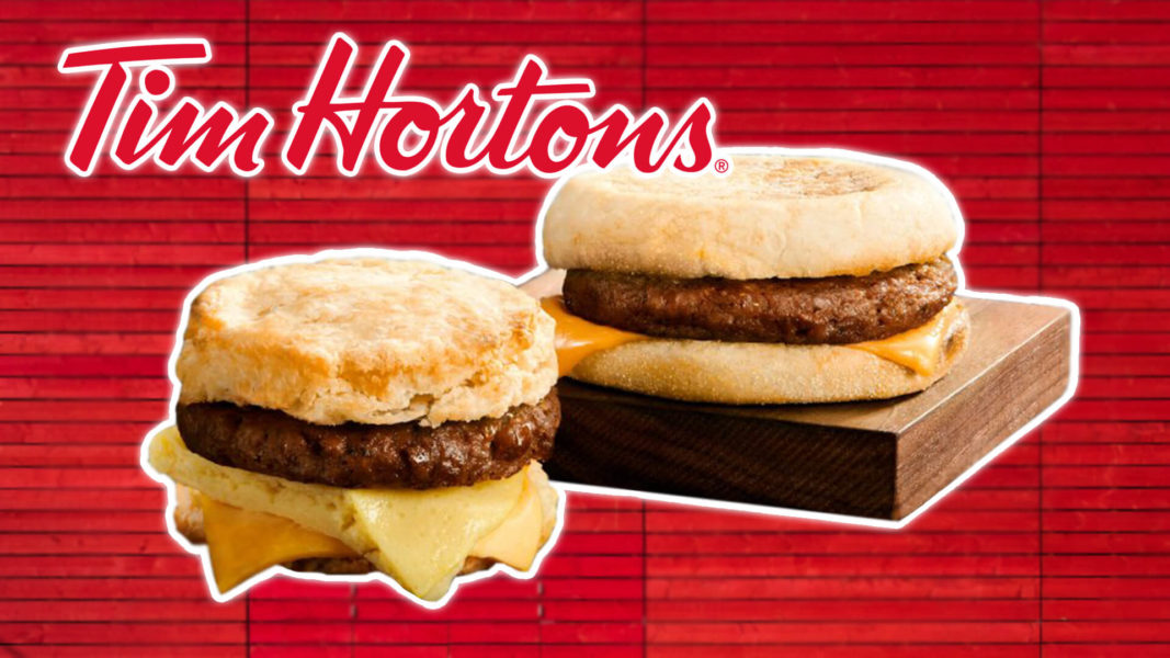 Tim Hortons Adds Vegan Breakfast Sausages to the Menu