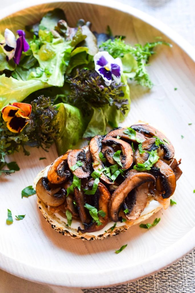 Truffled Vegan Mushrooms on Toast for the Perfect Brunch