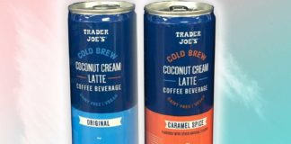 Trader Joe's Just Launched Vegan Coconut Cream Lattes