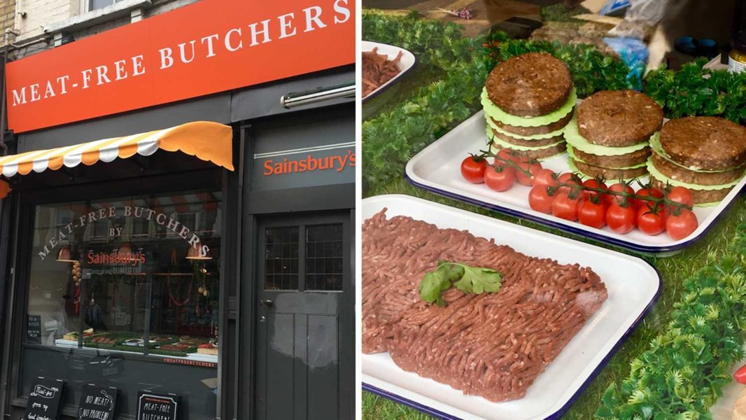 Sainsbury's Launches Butcher Counters With Vegan Meat