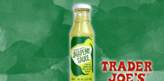 The Best Thing at Trader Joe's May Just Be This Creamy Vegan Jalapeño Sauce