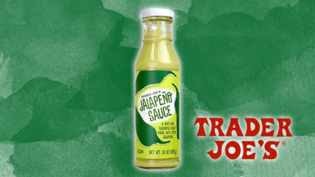 The Best Thing at Trader Joe's May Just Be This Creamy Vegan Jalapeño Sauce