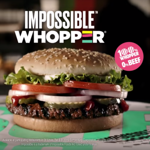 vegan burger king