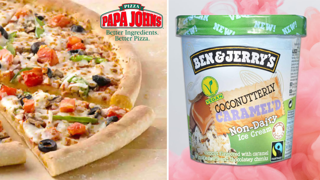 You Can Get Vegan Ben & Jerry's at Papa John's Now