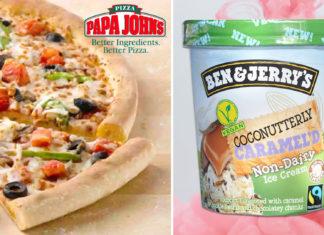 You Can Get Vegan Ben & Jerry's at Papa John's Now