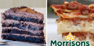 Vegan Lasagna and Chocolate Cake Just Launched at Morrisons