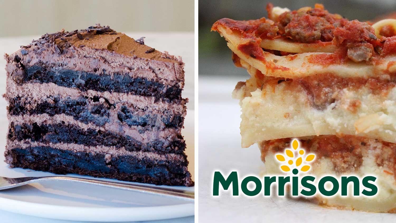 Vegan Lasagna and Chocolate Cake Just Launched at Morrisons