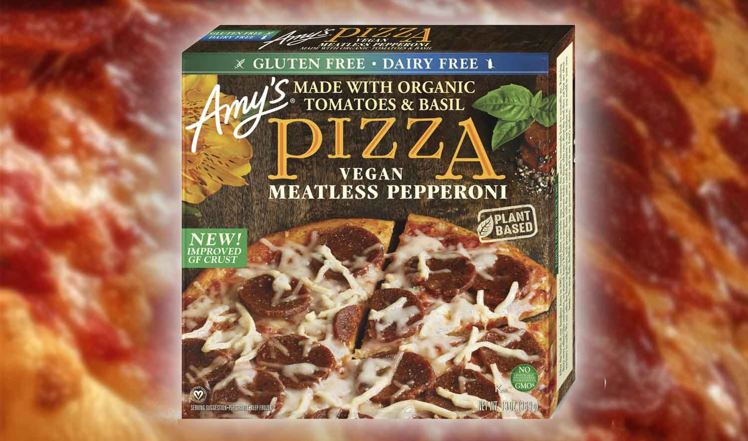 Amy's Just Released a Cheesy Vegan Pepperoni Pizza