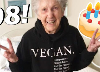 This Badass Vegan Just Turned 98 Years Young