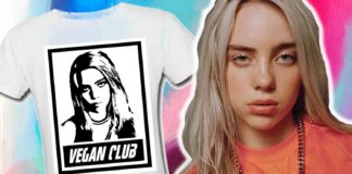 You Can Now Get Billie Eilish Vegan Club T-Shirts