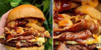 Aussies Are Freaking Out Over This $24 Vegan Bacon and Cheese Stuffed Burger