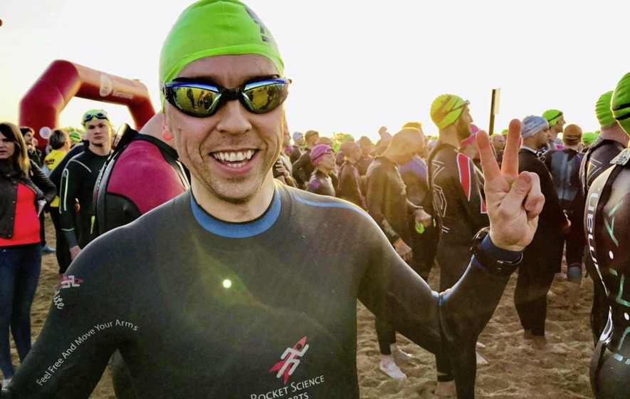 Vegan Athlete With MS Competes In 8th Ironman