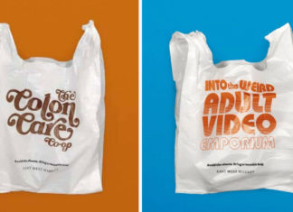'Embarrassing' Plastic Bags Will Make You Never Forget to Bring Your Own