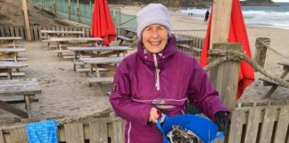 This 70-Year-Old Grandmother Cleaned Up 52 Beaches Last Year