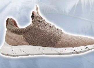 These Biodegradable Vegan Sneakers Are 100% Waterproof