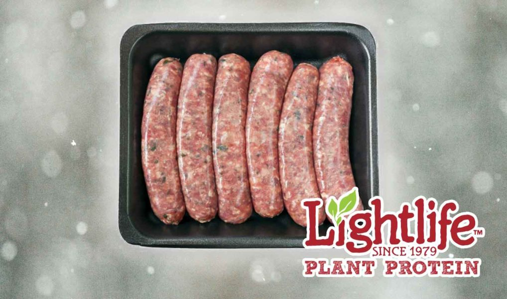 Lightlife Launches Incredibly Realistic Vegan Sausages