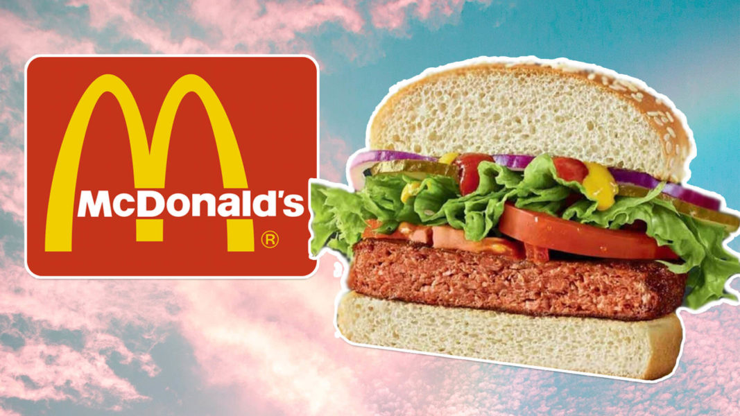 McDonald's Just Added the 'Big Vegan' Burger to Israeli Menus