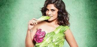 Bollywood's Richa Chadha Hopes Her Lettuce Dress Will Turn You Vegan