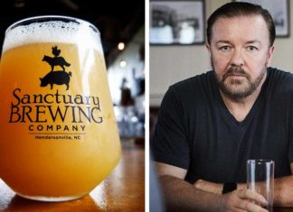 Ricky Gervais's Favorite Brewery Is Opening a Vegan Cafe