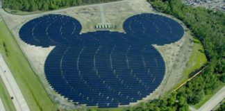 Disney World Is Now Powered By More Than 500,000 Solar Panels
