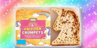 Asda Is Selling Vegan Unicorn Shaped Crumpets