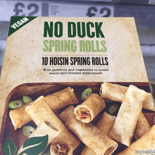 Iceland Launches Vegan Hoisin Duck Made From Jackfruit