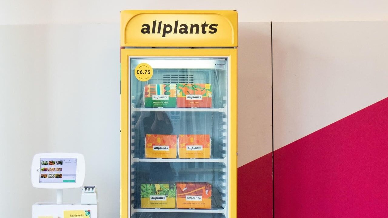 Vegan Ready Meal Machines to Launch in Offices Across Britain