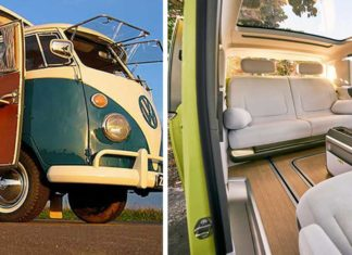 VW's Hippy Camper Van Is Electric Now (and Possibly Vegan)