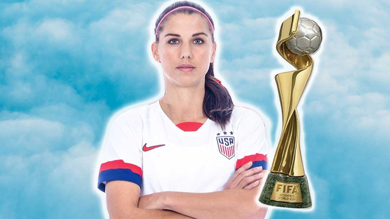 Vegan U.S. Co-Captain Alex Morgan Celebrates World Cup Victory