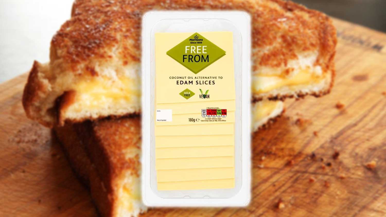 Vegan Edam and Mozzarella Cheeses Launch at Morrisons