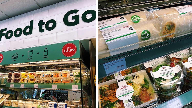 Vegan To-Go Sandwich and Salad Fridges Launch In Holland & Barrett