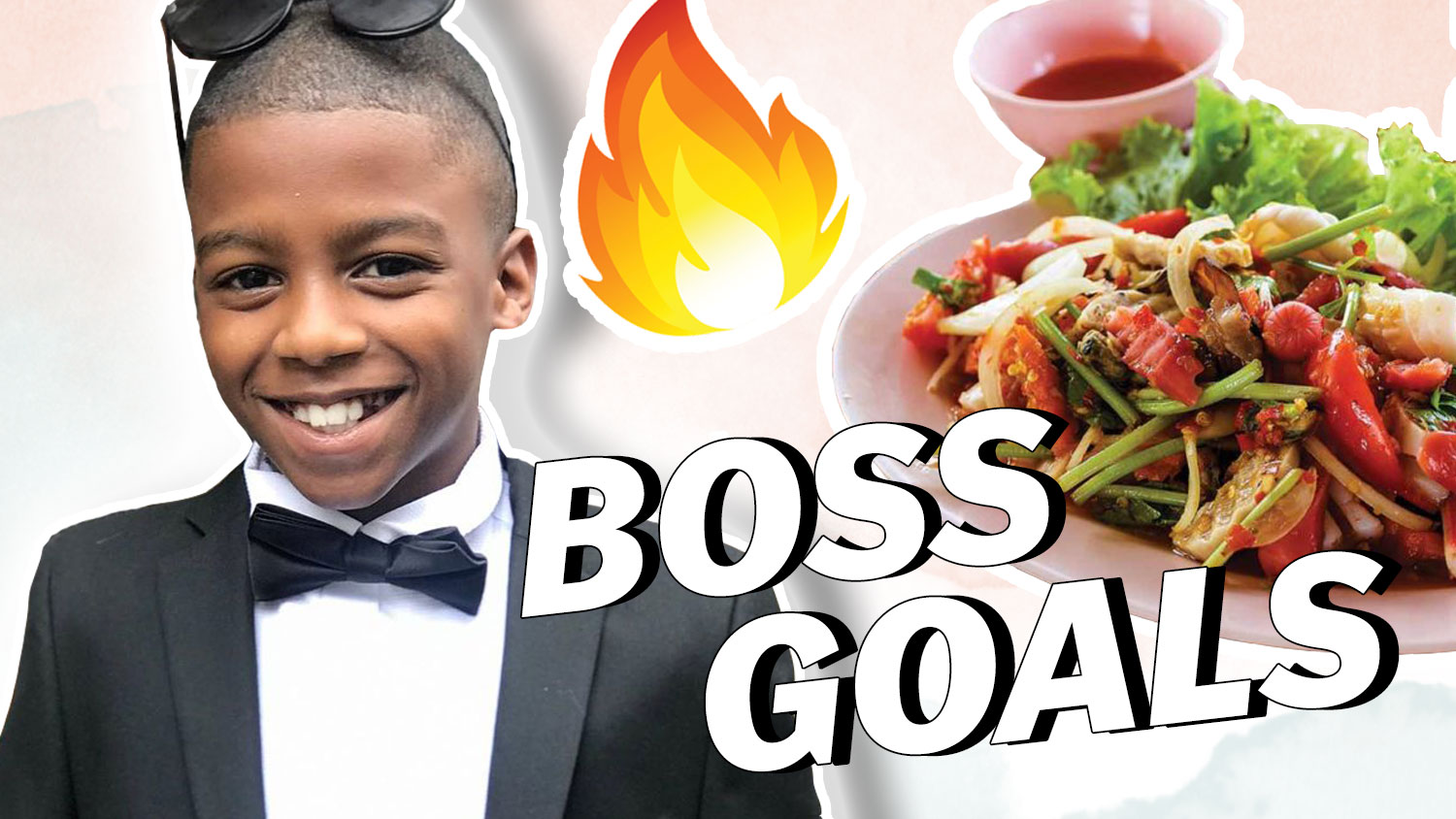 11 Year Old CEO Opens His Own Vegan Restaurant