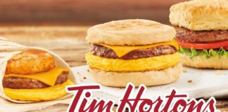 Tim Horton's Helped JUST Sell Its 10 Millionth Vegan Egg