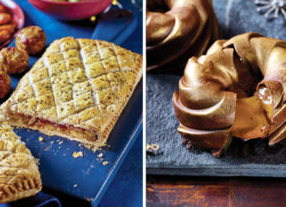 Asda Reveals Vegan Christmas Range Including Chickpea Wellington and Gold Chocolate Dessert