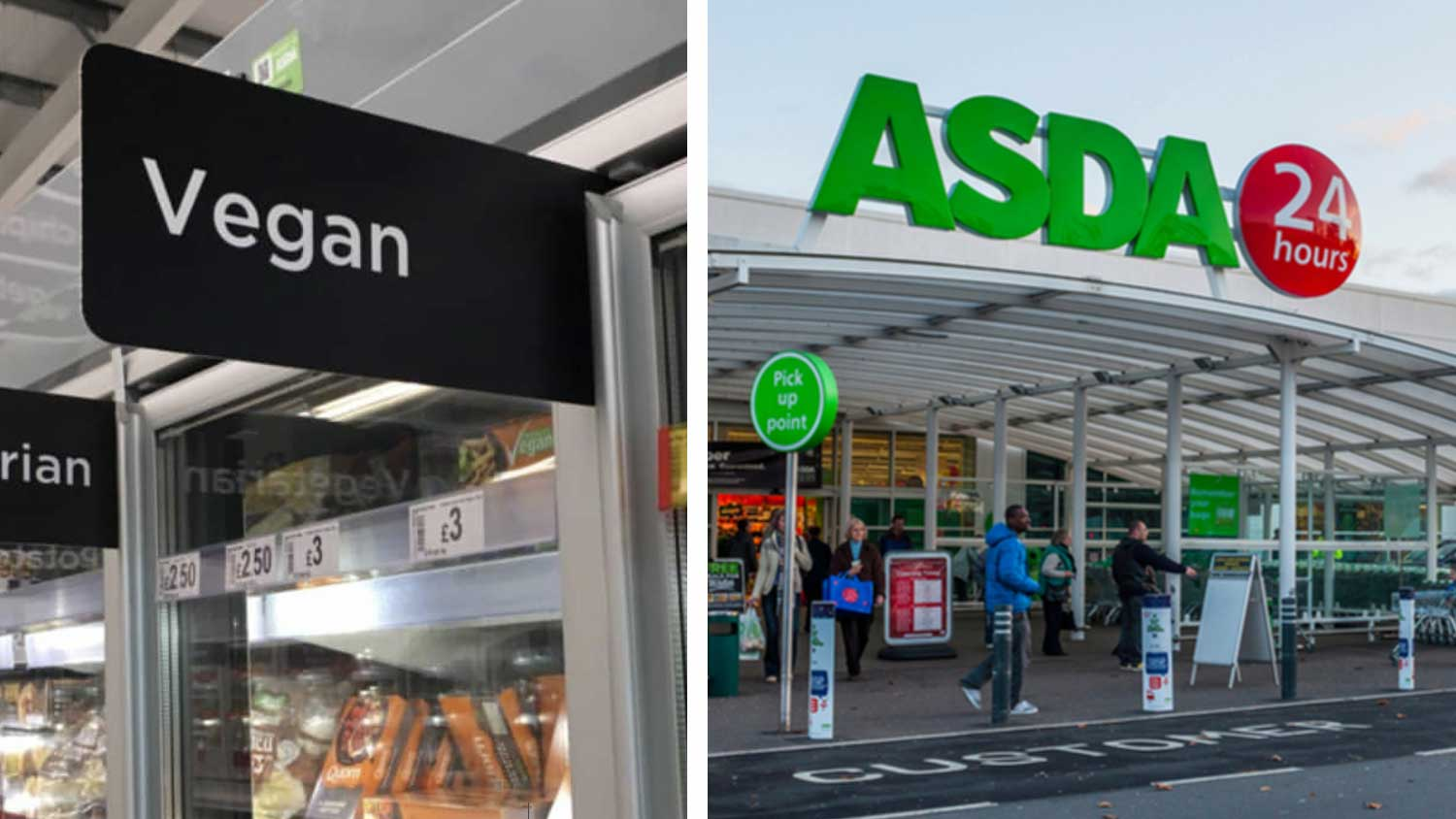 Dedicated Vegan Section Arrives at Asda Supermarkets