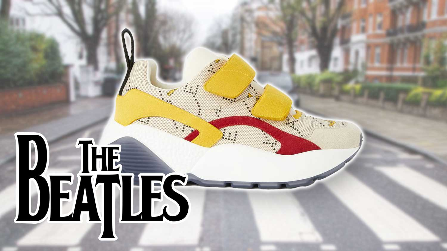 Stella McCartney Just Launched Beatles-Inspired Vegan Shoes
