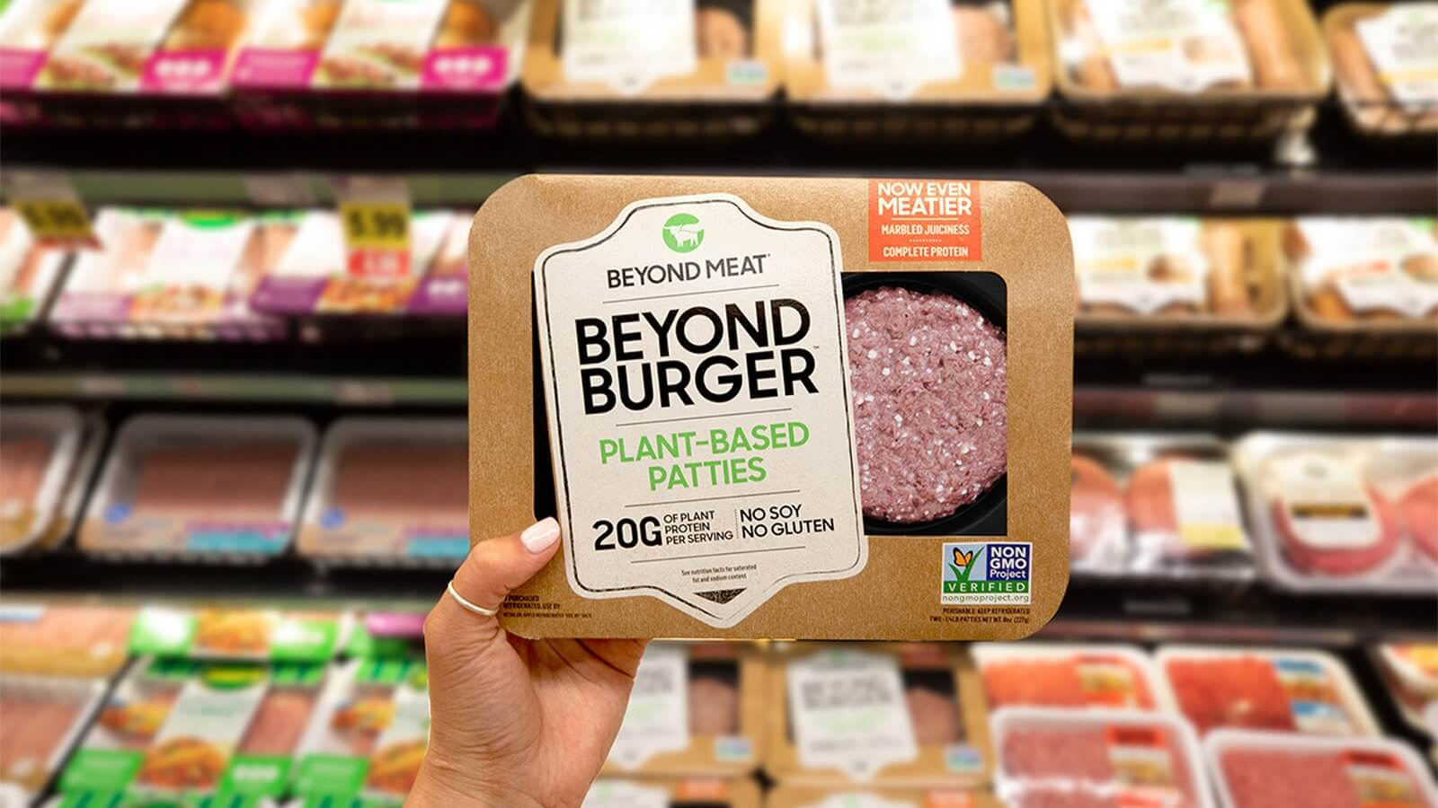 Vegan Meat Sales Are Growing 10 Times Faster Than Animal Flesh