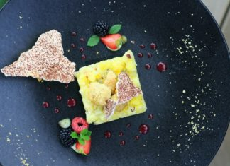 Serve These Vegan Coconut Tarts With Clementine Sorbet