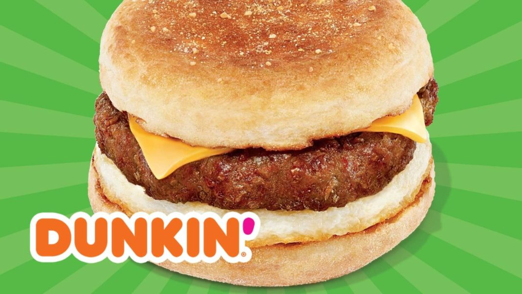 You Can Now Buy Vegan Breakfast Sausage at Dunkin'
