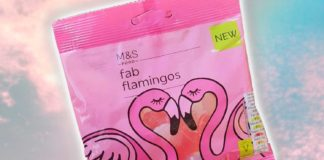M&S Just Launched Vegan Gelatin-Free Flamingo Gummy Sweets
