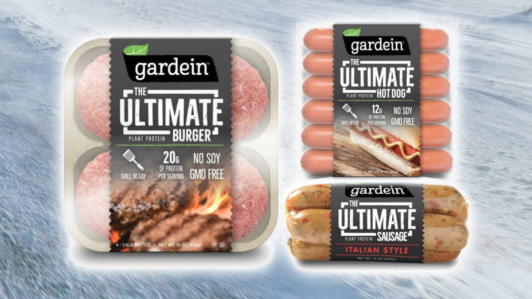 Gardein Is Launching New Meat-Like Vegan Burgers and Sausages