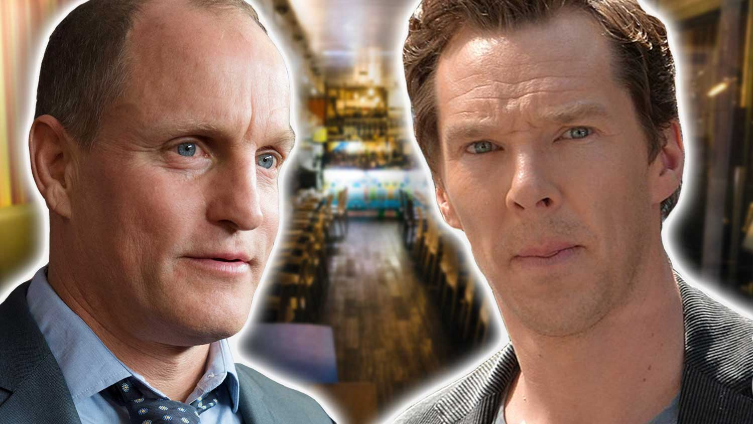 Woody Harrelson and Benedict Cumberbatch Just Had the Cutest Vegan Man-Date