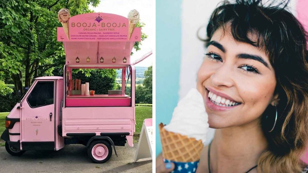 Bright Pink Vegan Ice Cream Tuk Tuk Arrives in Bristol