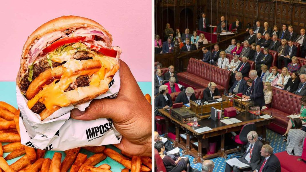 Yes, They Are Called Veggie 'Burgers', Says House of Lords