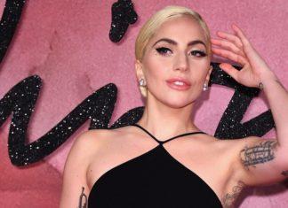 Lady Gaga Rocks a 100% Vegan Leather Dress