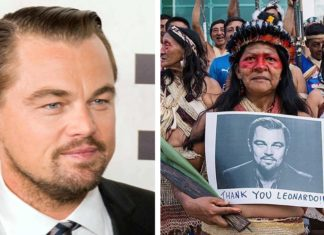 Leonardo DiCaprio Was Just Honored By This Amazon Tribe for His Environmental Work