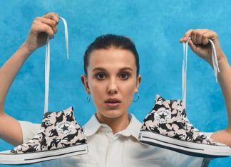 Millie Bobby Brown's Vegan Converse Will Make You Want to Free SeaWorld's Whales